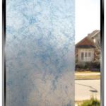 Smoke - Blue - Decorative Privacy Window Film