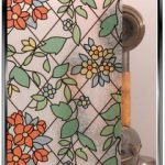 Stained Glass - Floral - Window Film